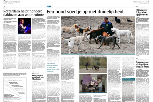 RTDC in Nederlands Dagblad